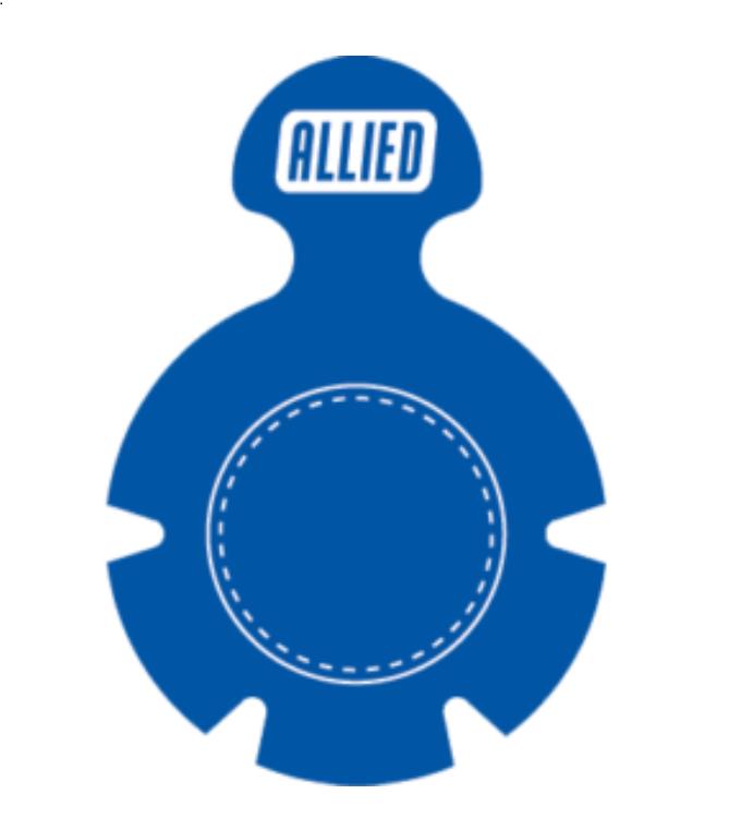 Steri-Tamp Blue Vial Seal 28mm-etiquetas-esteriles