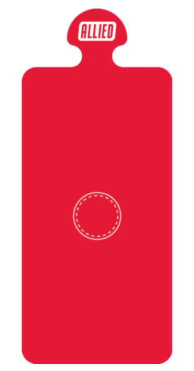 Steri-Tamp Red-Bag-Port-etiquetas-esteriles