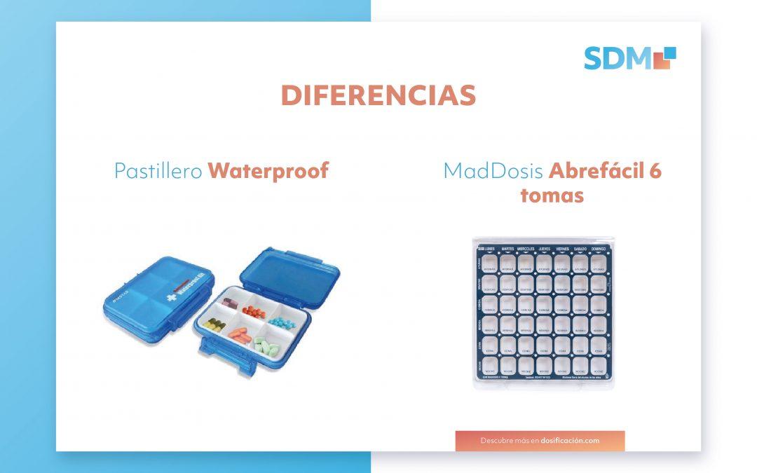 Diferencias entre  pastilleros convencionales y SPD